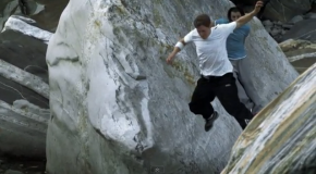 Red Bull Takes Parkour to the Rocks