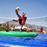 Bossaball, the World's Newest Extreme Sport