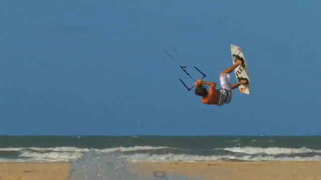 Aaron Hadlow Mimic This Kitesurfing Video