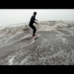 HD Storm Skimboarding on the Beach
