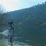 Liquid Mountaineering (Walking on Water)