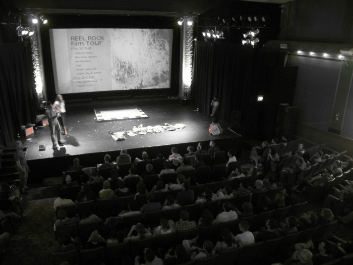 Reel Rock Film Tour 2011 screen