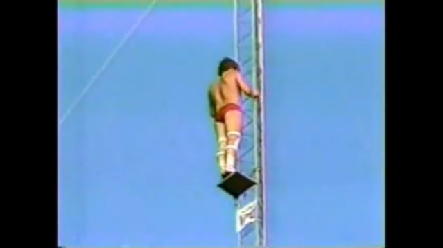 1984 Dana Kunze 172 Foot World Record High Dive