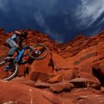 Jeremy VanSchoonhoven Trial Riding in Moab, Utah