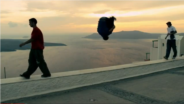 Red Bull Art of Motion Santorini Freerunning