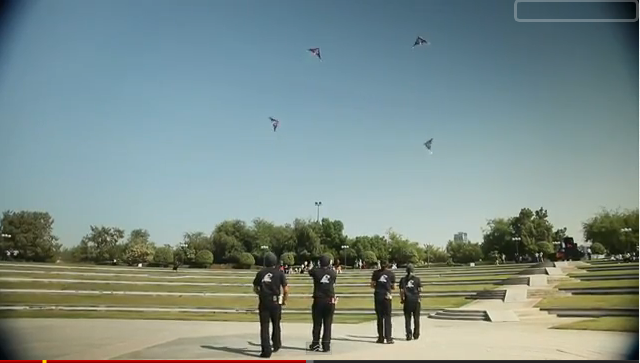 Red Bull Freestyle Kite Flying in the UAE