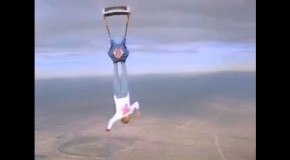 Greg Gasson Skydives Without a Parachute