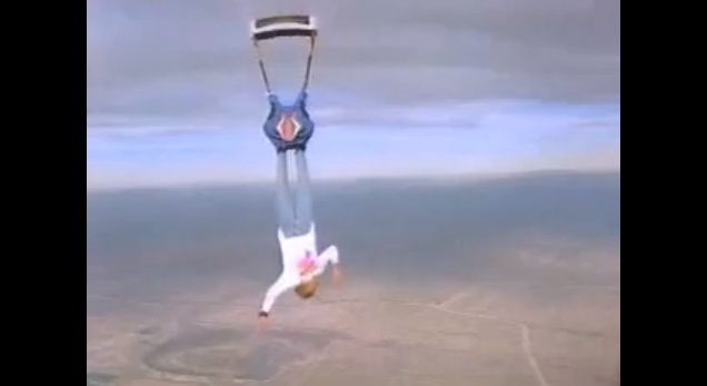 Skydive Upsidesdown