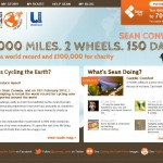 Sean Conway Cycles the Globe for £100,000