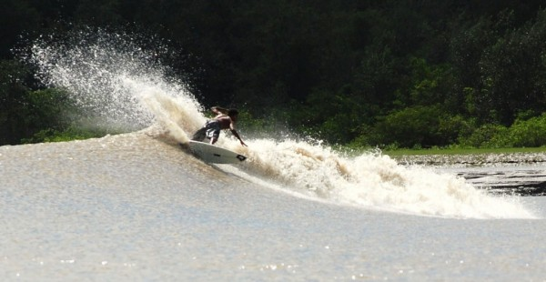Surfing the Amazon