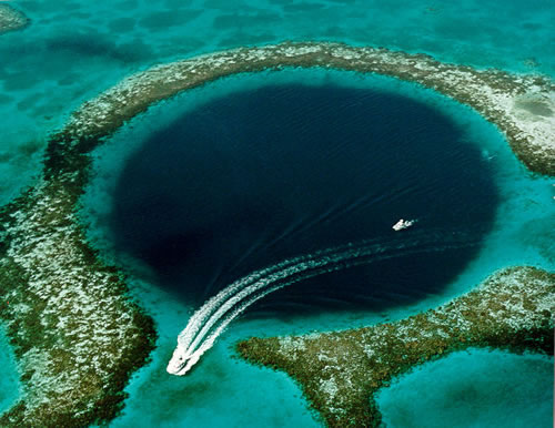 great blue hole belize scuba diving