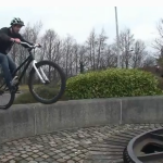 "Alastair ""Ali C"" Clarkson Mountain Bike Tricks"