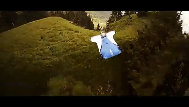 Alexander Polli Wingsuit Flying