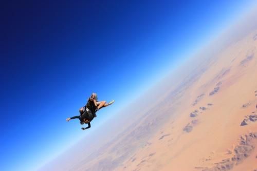 Jordan Wadi Rum Skydive