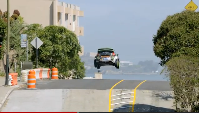 Ken Block San Francisco Racing