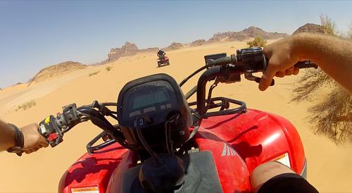 Jordan Wadi Rum ATV