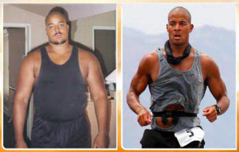David Goggins Before & After