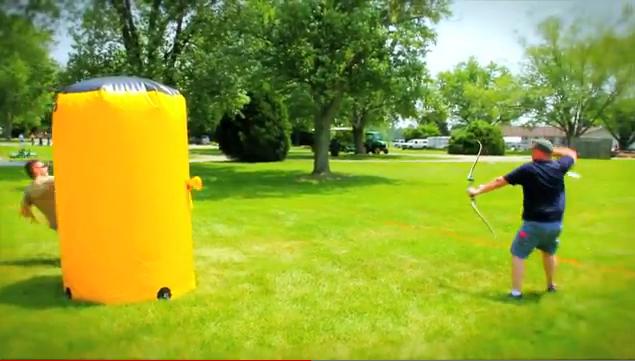 archery tag extreme sport