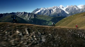 High Alpine Singletrack Mountain Biking