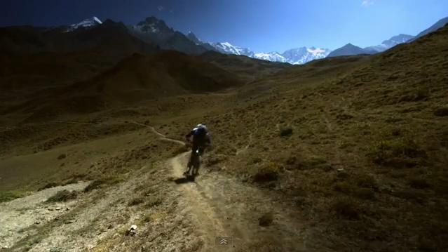 strength in numbers nepal mountain biking