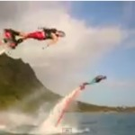 Whoa. The Flyboard Water Jet Pack!