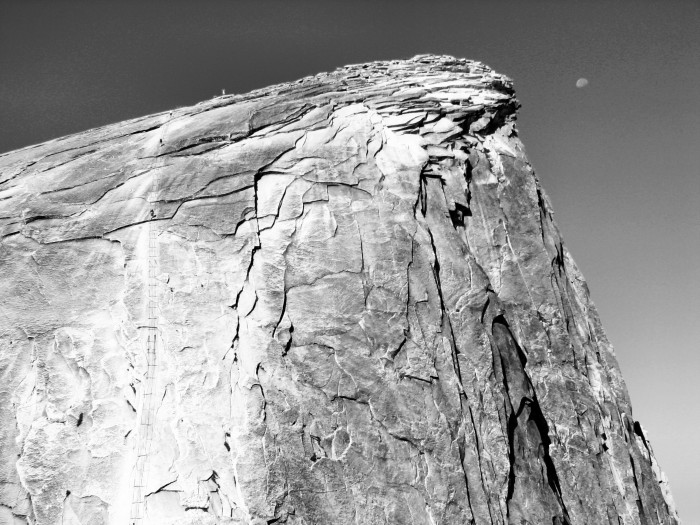 CALIFORNIA Half Dome Moon 2007