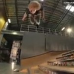 6-Stair Backflip, on a Skateboard