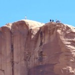 BASE Jumping Tombstone in Moab, Utah