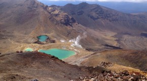 Extreme Hiking: Volcanoes, Craters and Lakes Hotter than 100 Degrees C