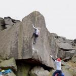 Mina Leslie-Wujastyk Climbs Careless Torque