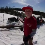 Eelis Heimonen, 9-Year Old Skier