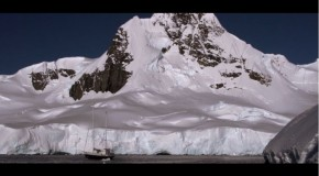 Using a Boat as Base Camp in the Antarctic