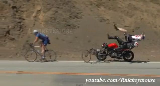 Shocking Motorcycle Crash