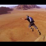 Beautiful Climbing (and BASE Jumping) in Wadi Rum, Jordan