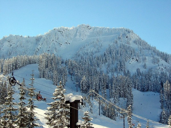 stevens pass ski resort near seattle