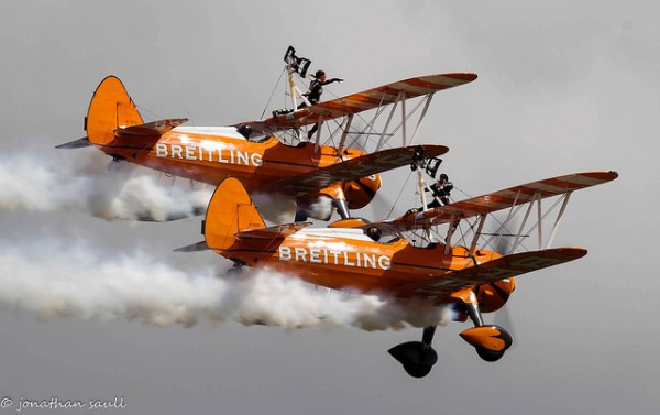 wing walking 10 most bizarre extreme sports