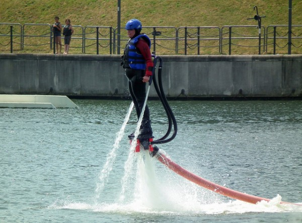 flyboarding near london top 5 adrenaline junkie activities