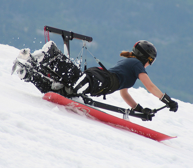extreme sports hangboarding