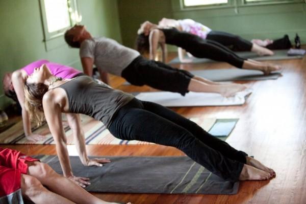 rock climbing yoga workout