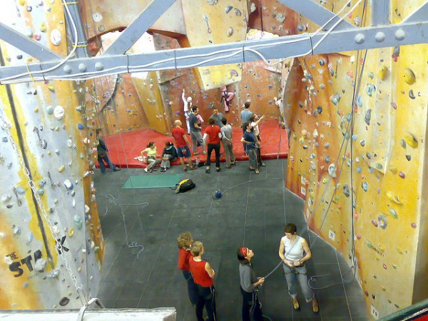 the castle rock climbing centre in london