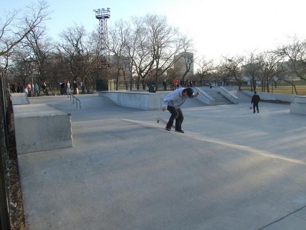 wilson skate park chicago best skate parks