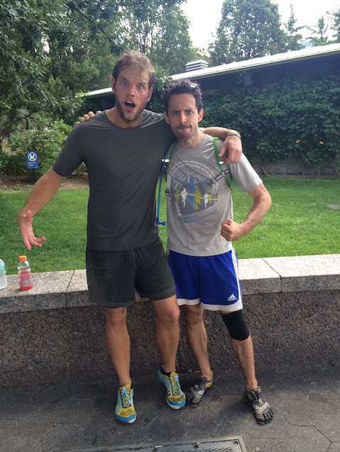 Alan & Joel Ultramarathon in NYC