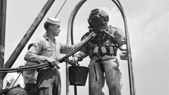 First black navy diver movie