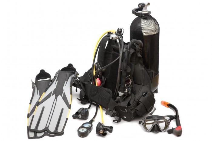 scuba-gear-set