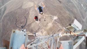 BASE Jump Front Flips