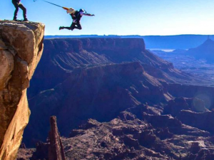 BASE Jumping Utah Fisher Towers