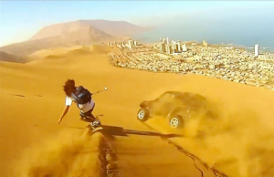 Sandboarding In Chile