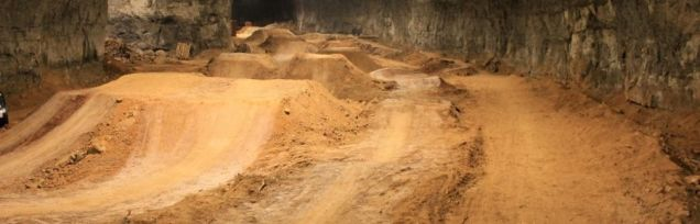 bmx park abandoned mine