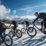 Fatbike Downhill At Snow Epic 2015