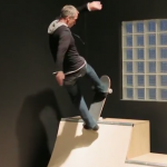 Tony Hawk & Friends Skate A Mini Ramp Inside A House